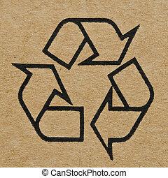 リサイクル, ボール紙, 印