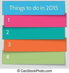 リスト, ベクトル, テンプレート, 年, 新しい, 決断