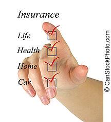 リスト, 保険