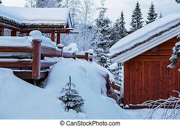 リゾート, 冬