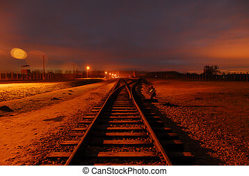 リターン, いいえ, 先導, ポイント, 軌道に沿って進む, 列車