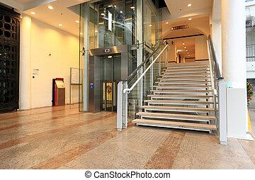 リフト, 階段
