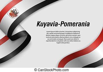 リボン, 旗, 州, ポーランド, ∥あるいは∥, 振ること, 旗