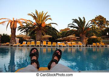 リラックスしなさい, プール, ギリシャ