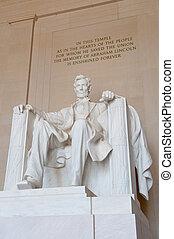 リンカーンの 記念物