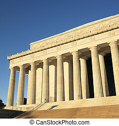 リンカーンの 記念物, ワシントン, dc.