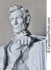 リンカーンの 記念物, 中に, washington d.c.