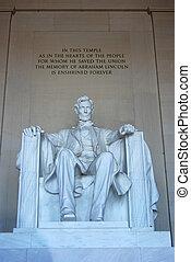 リンカーンの 記念物, 縦