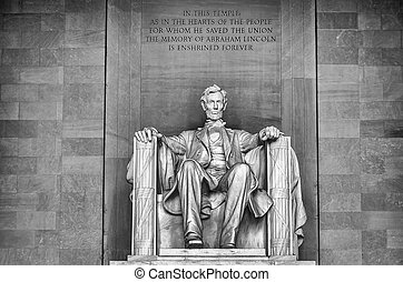 リンカーンの 記念物, washington d.c.