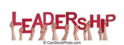 リーダーシップ, 手を持つ