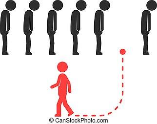 リーダー, 人々, 別, 独特, ∥あるいは∥, 方法