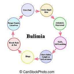 リードする, bulimia, 周期