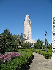ルイジアナ, 国会議事堂の 建物, 州