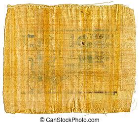 ルクソール, 古代, エジプト人, 分解しなさい, パピルス, (from, egypt)., karnak, 寺院, テーベ, 谷
