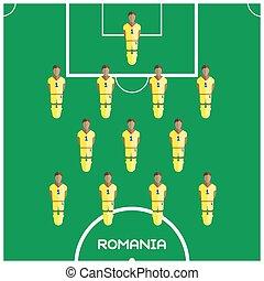 ルーマニア, クラブ, フットボール選手, ゲーム, コンピュータ