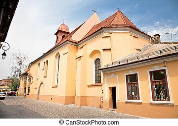 ルーマニア, 修道院, sf.ioan, brasov, franciscan