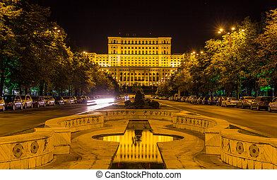 ルーマニア, 議会, bucharest, 宮殿