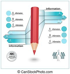 レイアウト, テンプレート, infographics