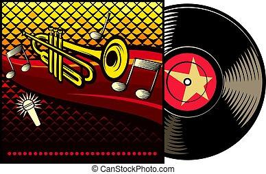 レコード, カバー, ビニール