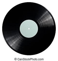 レコード, ビニール