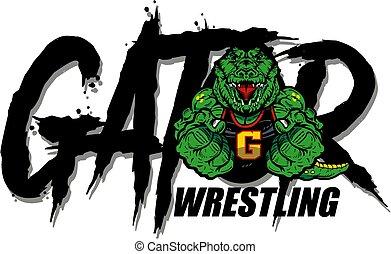 レスリング, gator