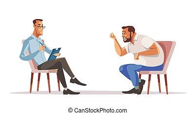 レセプション, psychotherapist., ビジネスマン, psychologist.