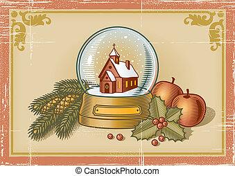 レトロ, クリスマスカード