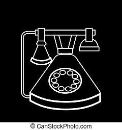 レトロ, 電話