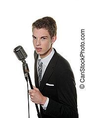 レトロ, mic, 歌手, 若い
