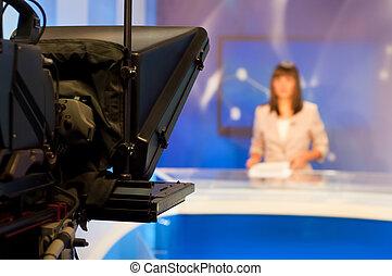 レポーター, 提出すること, ニュース