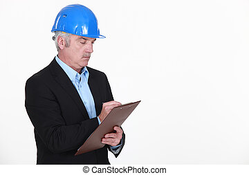 レポート, 建築家, 立案すること