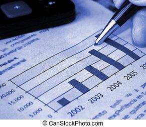 レポート, 金融