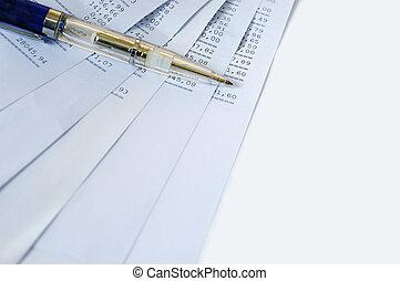 レポート, 銀行業