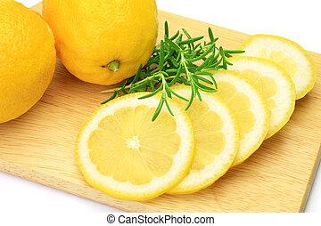 レモン, ローズマリー