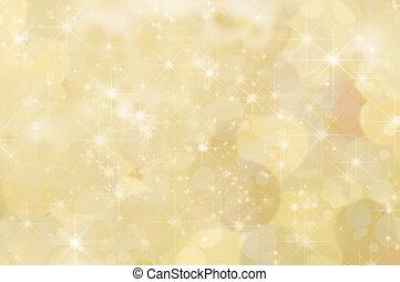 レモン, 抽象的, 星, 黄色の背景
