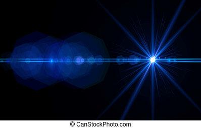 レンズの 火炎信号, ライト
