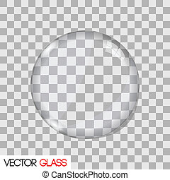 レンズ, ガラス, ベクトル, イラスト