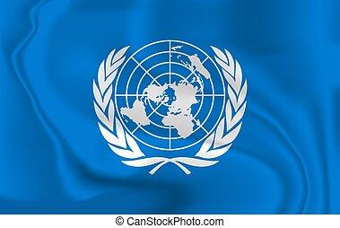 レンダリング, 3d, 風, イラスト, 抽象的, 印, isolated., 吹く, 旗, 合併した, design., 振ること, 役人, 国, 愛国心が強い, シンボル。