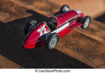 レースカー, の, ∥, fangio, 時代