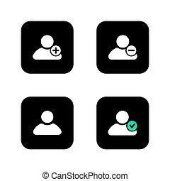 ログイン, ユーザー, icon.