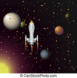 ロケット, スペース