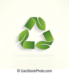 ロゴをリサイクルしなさい, エコロジー