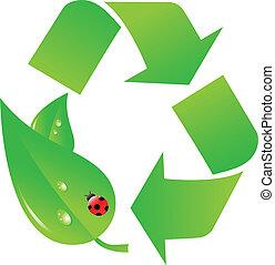 ロゴをリサイクルしなさい