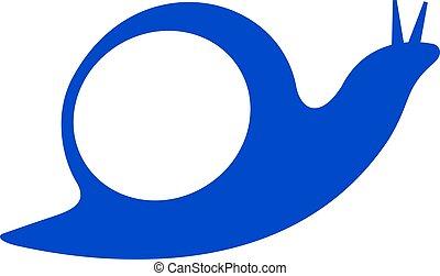 ロゴ, かたつむり, design.