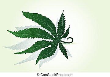 ロゴ, インド大麻の葉