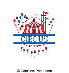 ロゴ, サーカスのテント