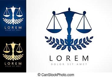 ロゴ, スケール, 正義