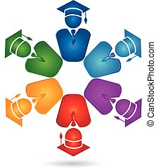 ロゴ, チームワーク, 卒業生