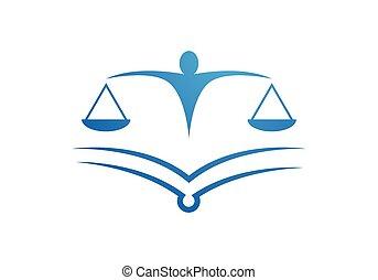 ロゴ, テンプレート, 法律事務所