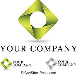ロゴ, デザイン, 企業である